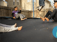 How to Clean a Backyard Trampoline